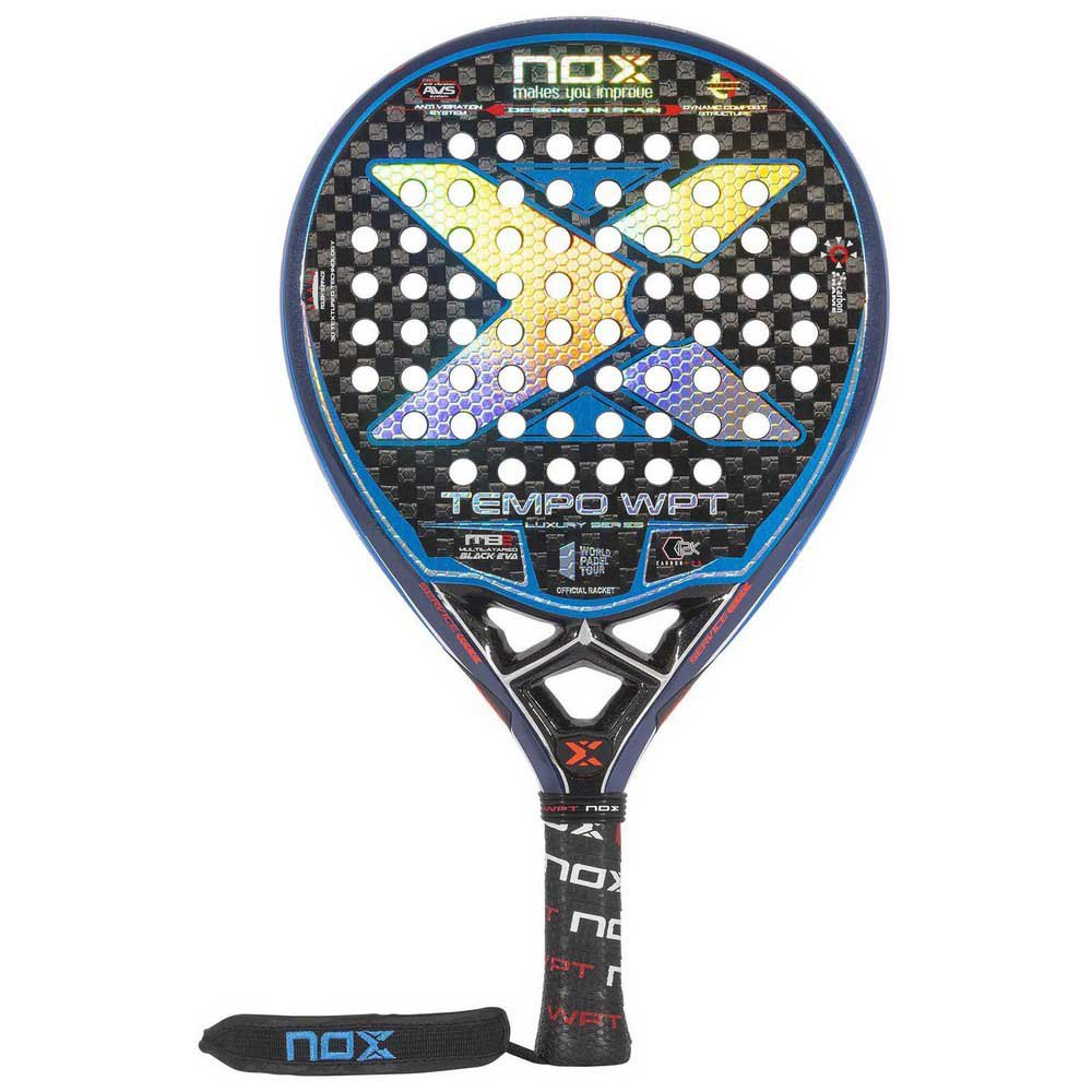 Nox Tempo Wpt Padel Racket One Size Blue