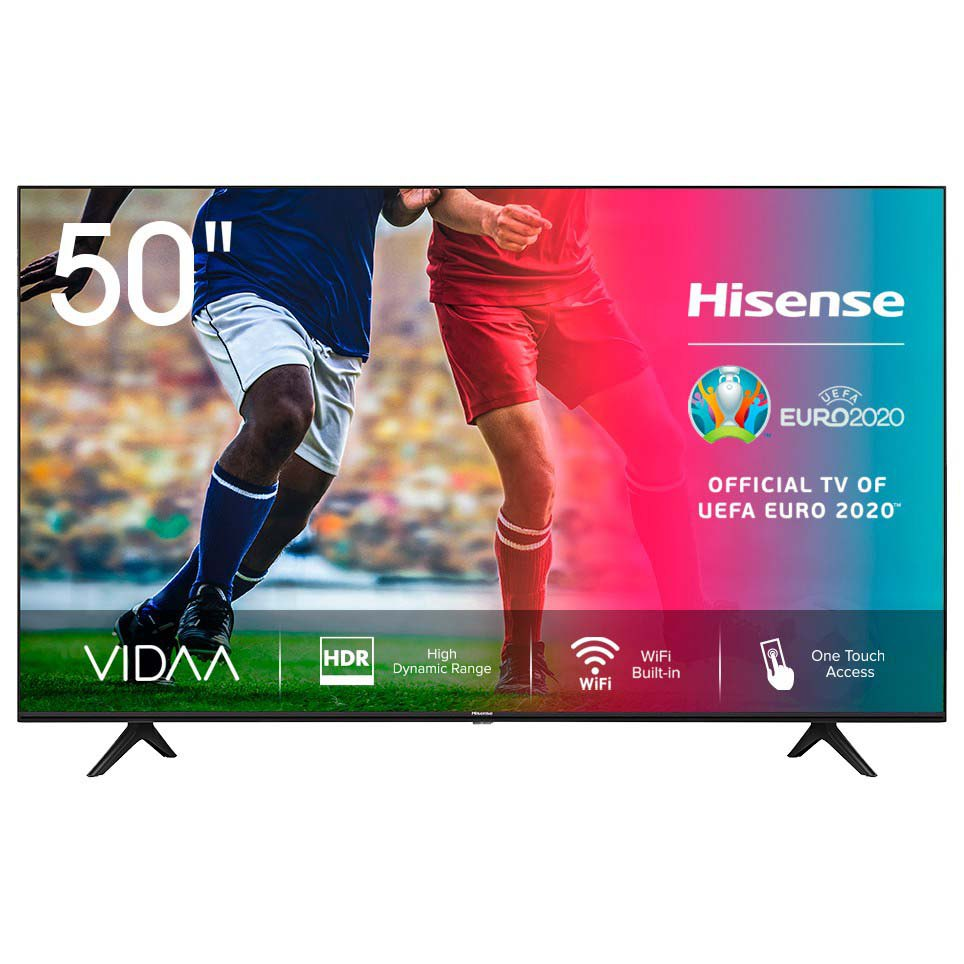 Televisor Hisense H50a7100f 50'' 4k Uhd Led Europe PAL 220V Black