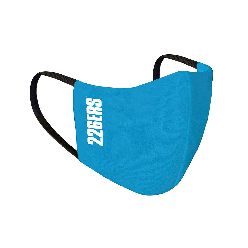226ers Movistar Team Face Mask One Size Blue