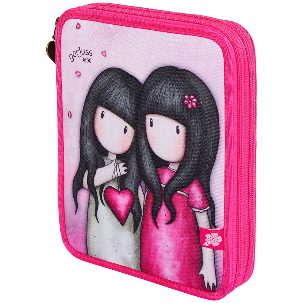 Safta Gorjuss Sparkle & Bloom Double Filled Pencil Case One Size You Can Have Mine