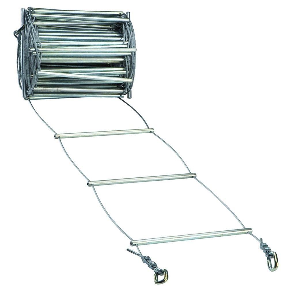 Fixe Climbing Gear Ladder Steel 20 Cm 20 m Silver