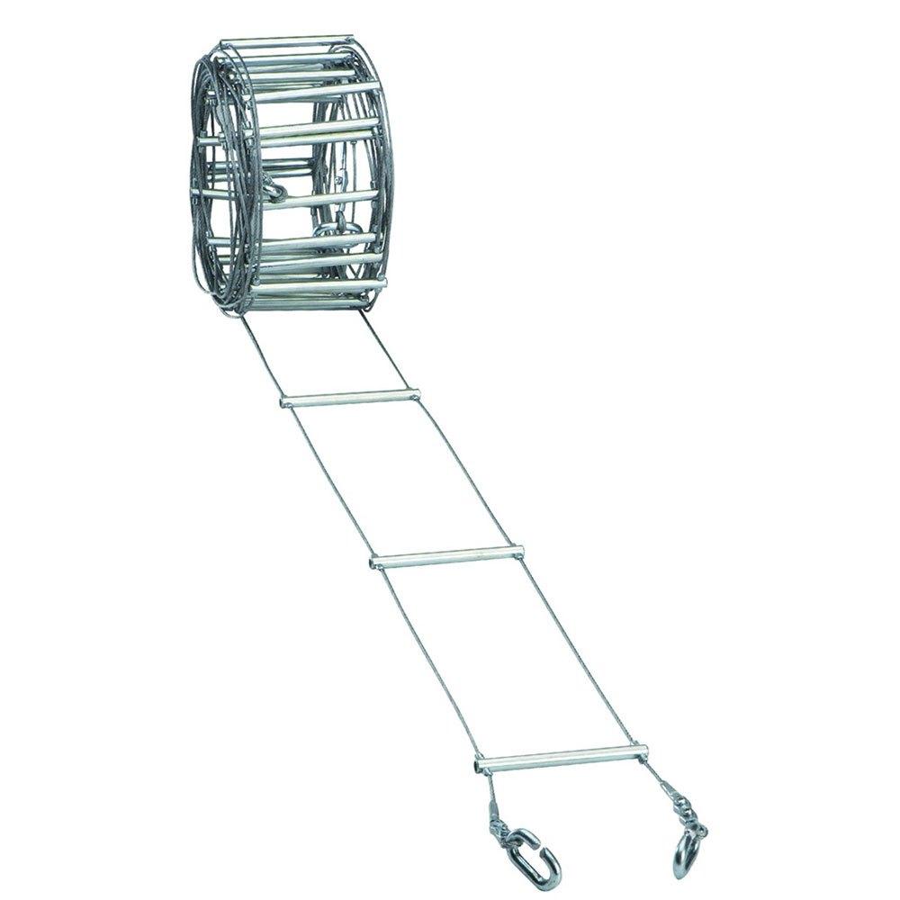 Fixe Climbing Gear Ladder Steel 12.5 Cm 20 m Silver