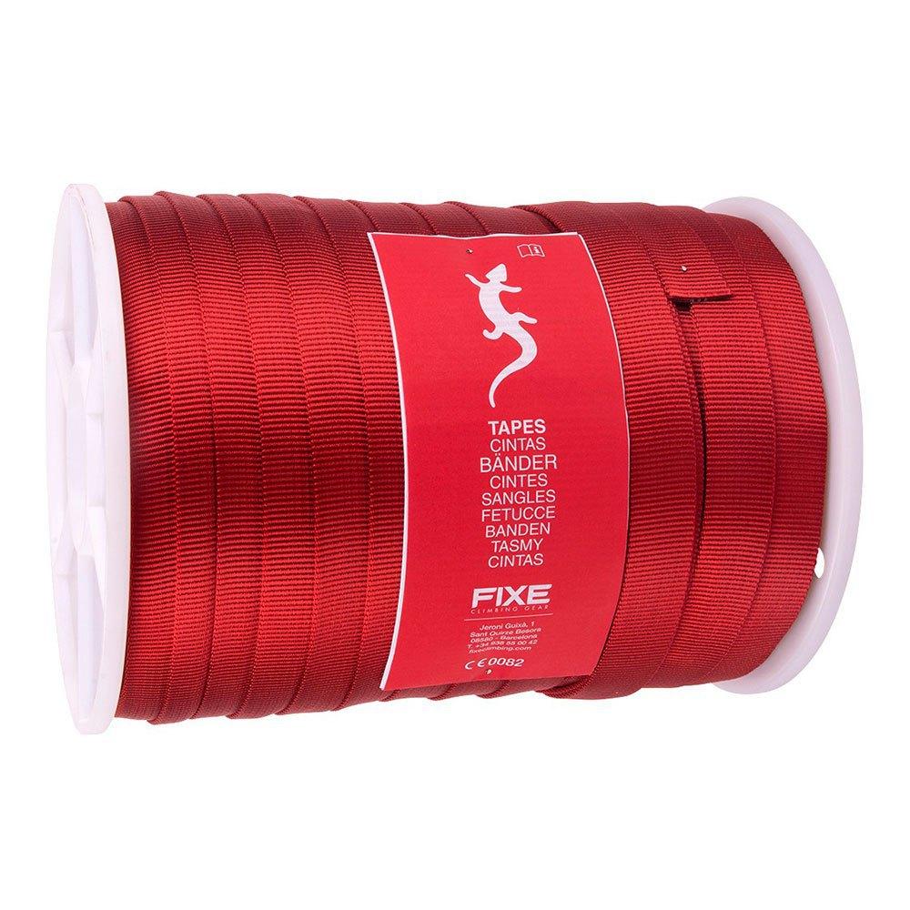 Fixe Climbing Gear Sangle Plate Webbing 25 Mm 100 m Red