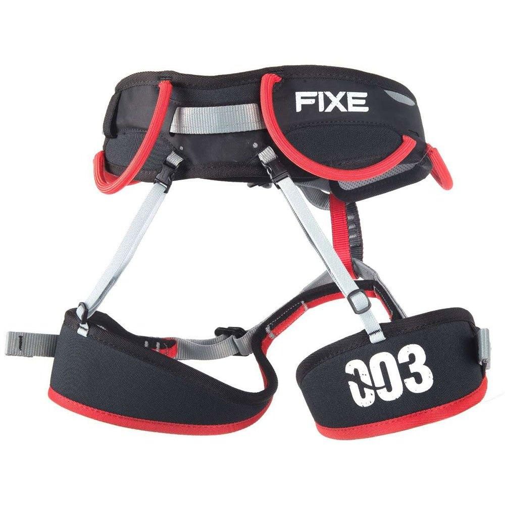 Fixe Climbing Gear Harnais 3 S-M Black / Light Grey / Red