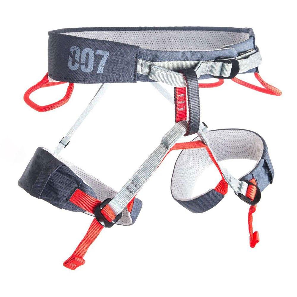 Fixe Climbing Gear Harnais 7 S Light Grey / Dark Grey / Red