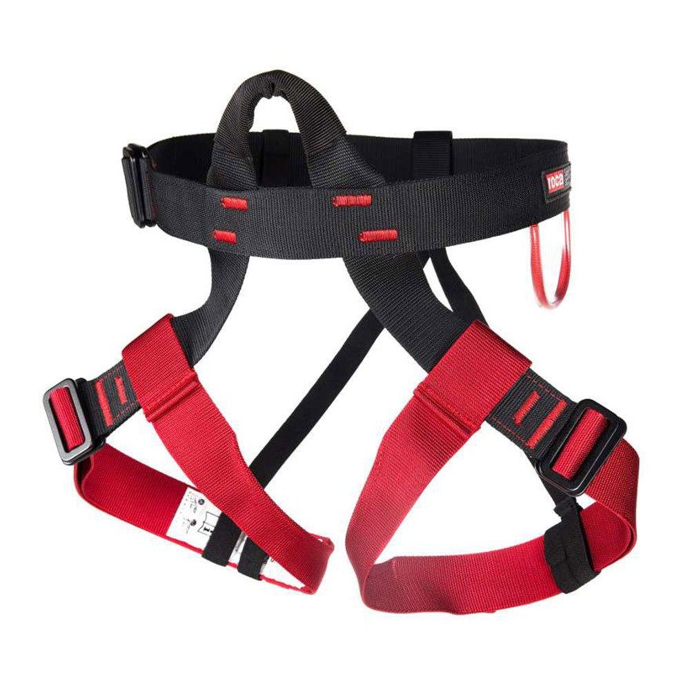 Fixe Climbing Gear Harnais Linus One Size Red / Black