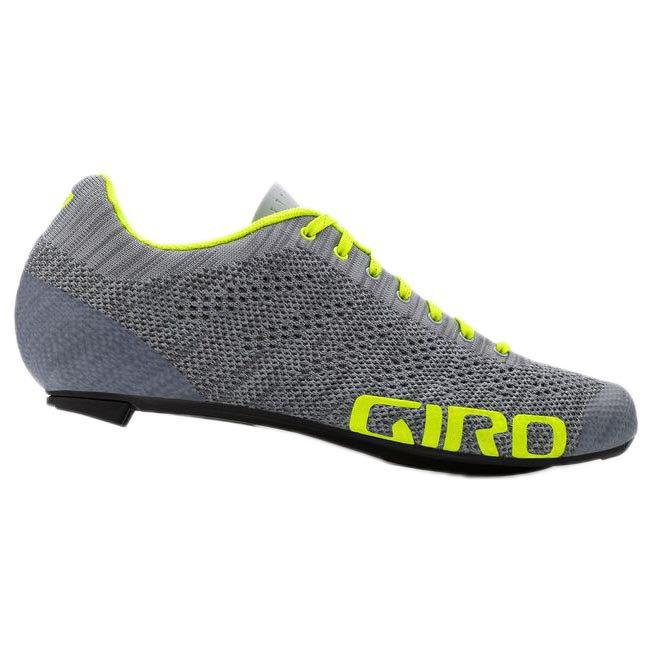 Giro Empire E70 Knit Eu 40 Grey / Yellow Fluo