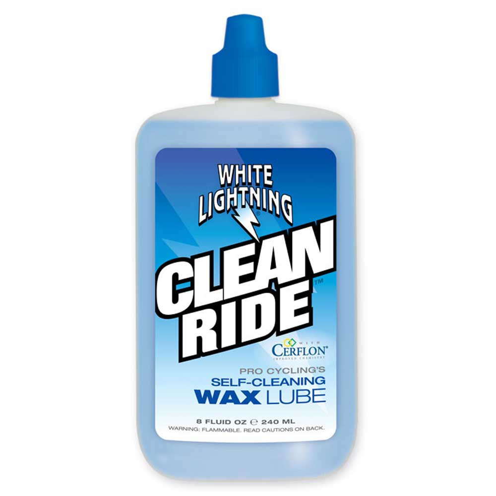 White Lightning Clean Ride 240ml One Size Blue