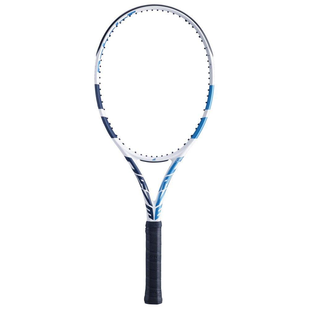 Babolat Raquette Tennis Sans Cordage Evo Drive Lite W 0 White / Blue