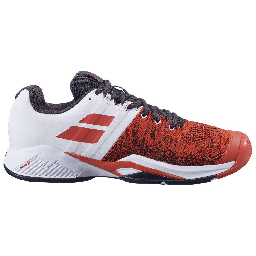 Babolat Chaussures Tous Les Courts Propulse Blast EU 46 Cherry Tomato / White
