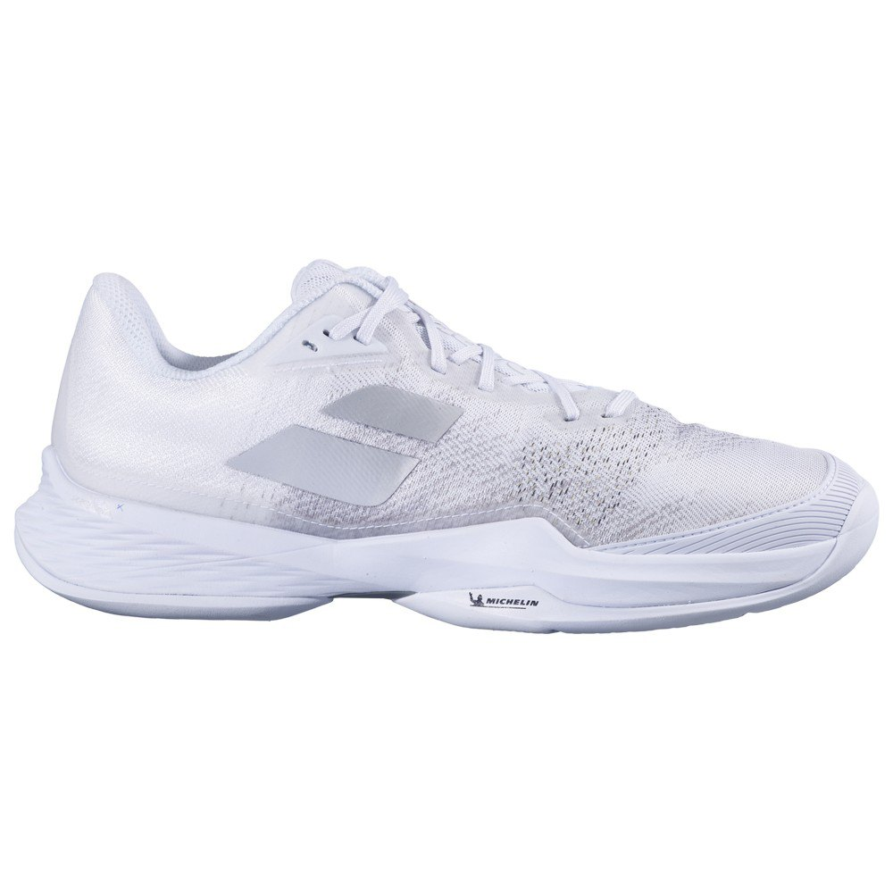 Babolat Chaussures Tous Les Courts Jet Mach 3 EU 46 White / Silver
