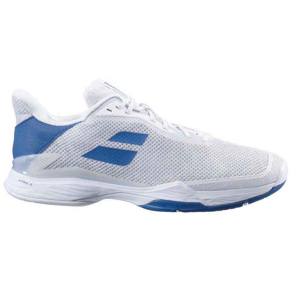 Babolat Chaussures Tous Les Courts Jet Tere EU 46 White / Saxony Blue