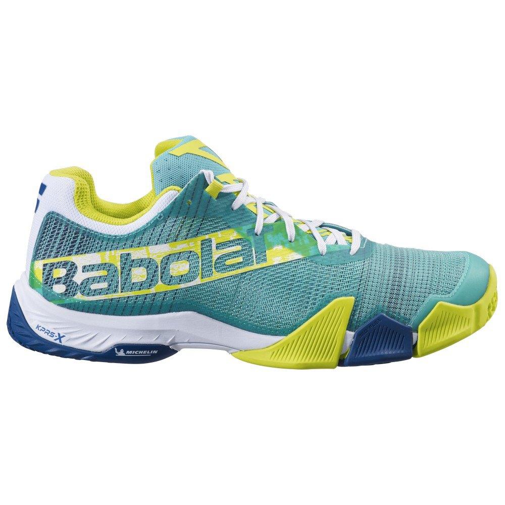 Babolat Chaussures Jet Premura EU 45 Green / Sulphur Spring