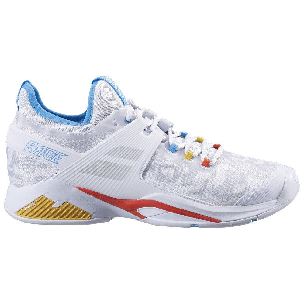 Babolat Chaussures Tous Les Courts Propulse Rage EU 46 White / Diva Blue