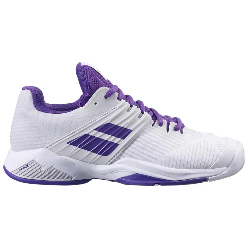 Babolat Chaussures Tous Les Courts Propulse Fury EU 37 White / Purple