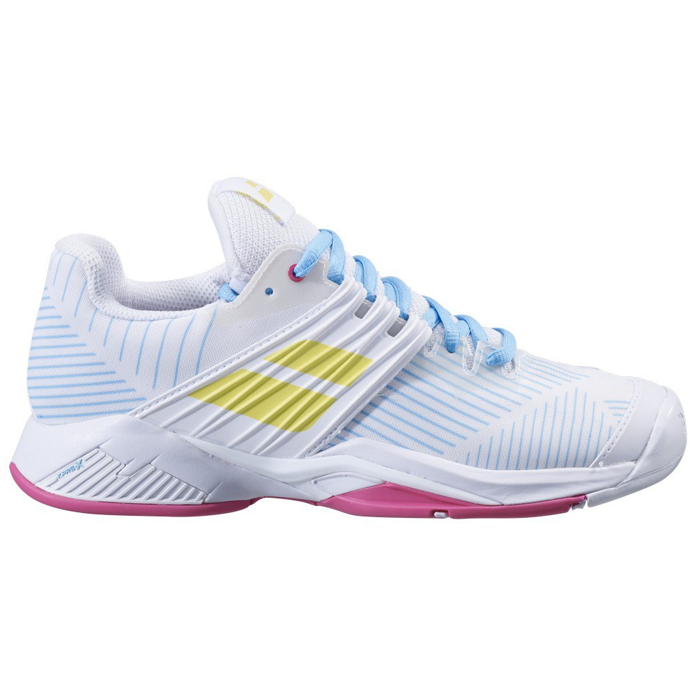 Babolat Propulse Fury All Court EU 37 White / Sulphur Spring
