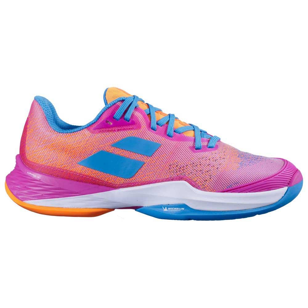 Babolat Chaussures Tous Les Courts Jet Mach 3 EU 37 Hot Pink