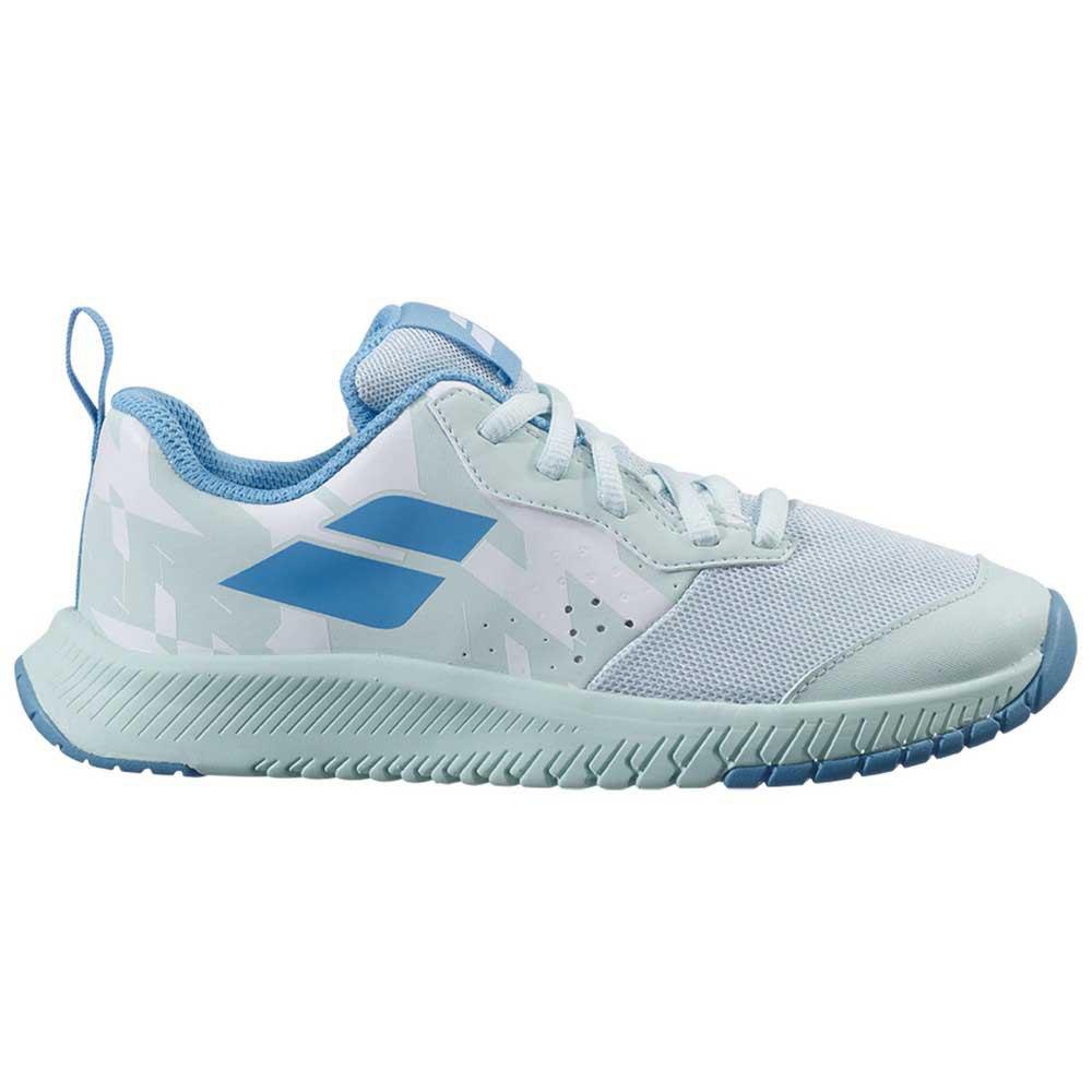 Babolat Chaussures Tous Les Courts Pulsion Enfant EU 33 White / Honeydew