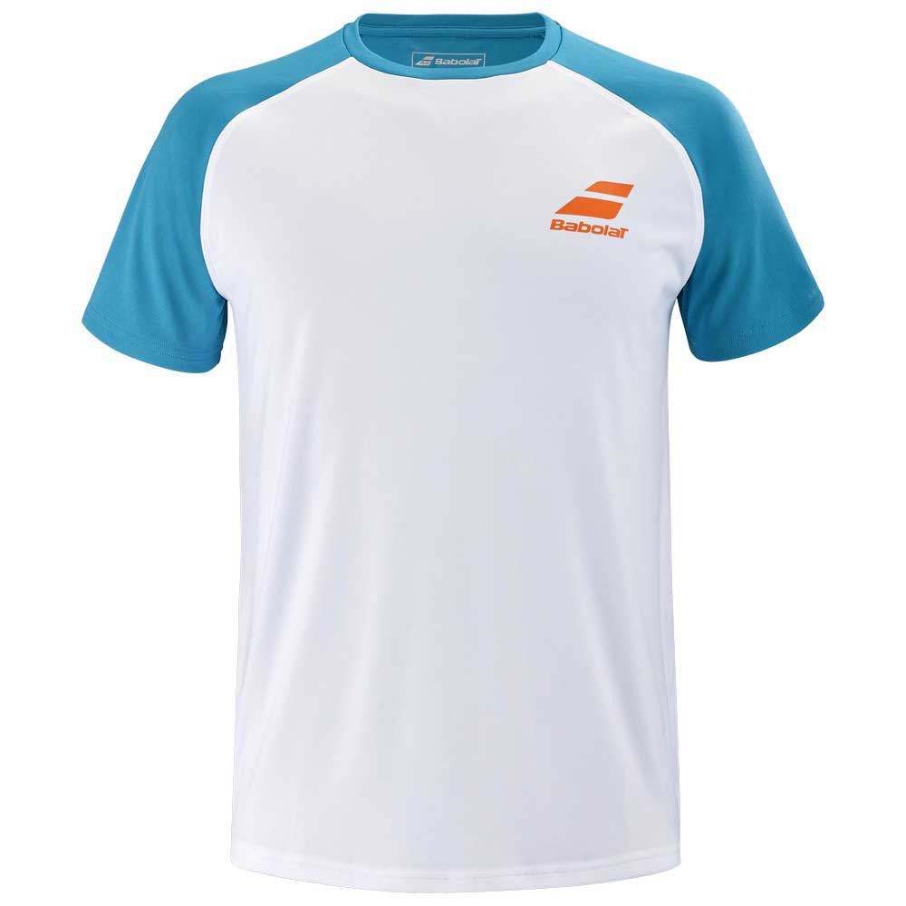 Babolat Play Crew 10-12 Years White / Caneel Bay