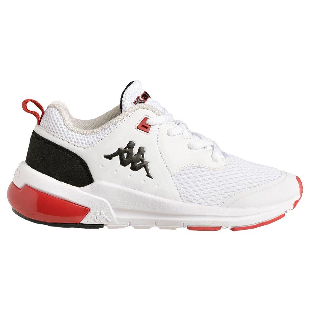 Kappa Chaussures Snugger Lace Junior EU 32 White / Black / Valencia