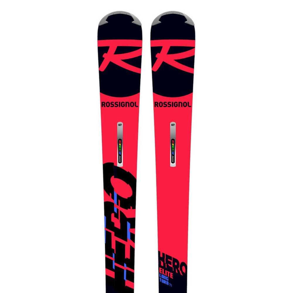 Rossignol Ski Alpin Hero Elite Lt Ti R22+spx 12 Race Test B80 172 Black / Red / Icon