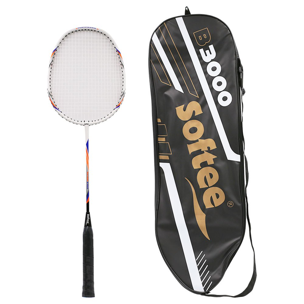 Softee Raquette Badminton B 3000 Pro One Size White