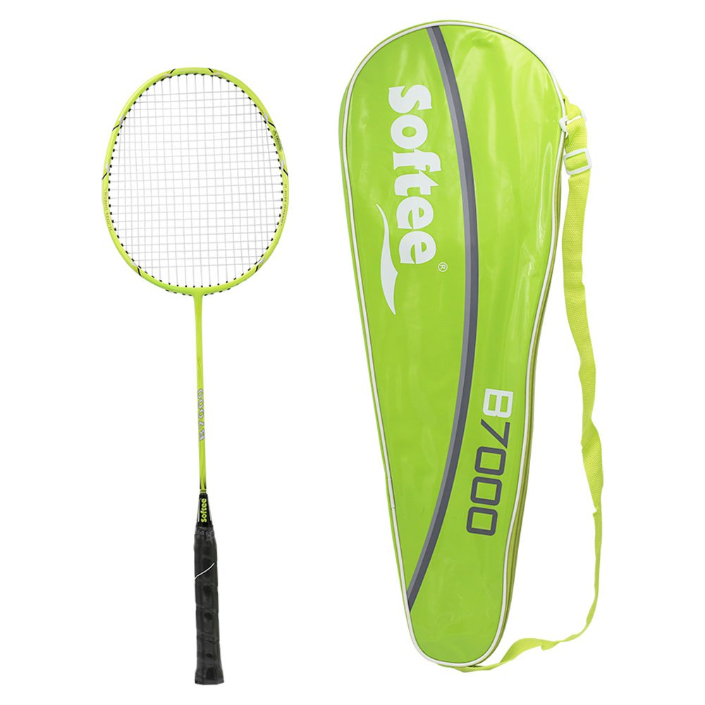Softee B 7000 Competition Badminton Racket One Size Green