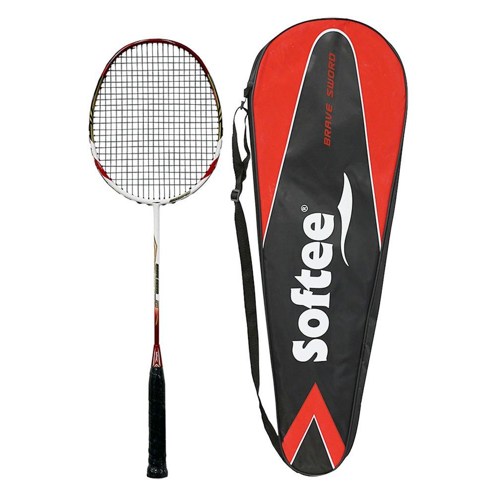 Softee Raquette Badminton 10k Premium One Size Red / White