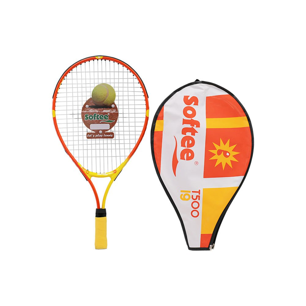 Softee Raquette Tennis T500 Sweerpoint 19 One Size Yellow / Orange