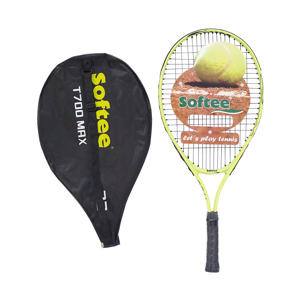 Softee T700 Max 23 Unstrung Tennis Racket One Size Yellow