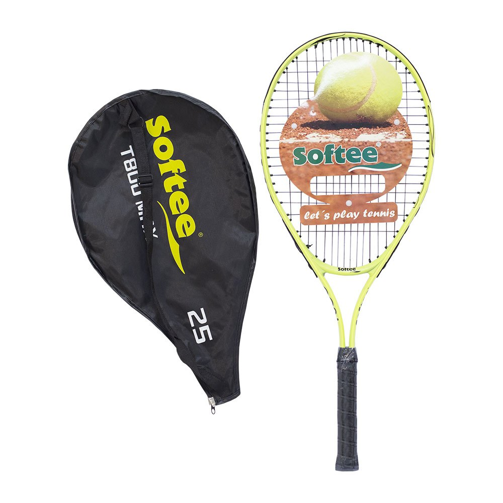 Softee Raquette Tennis Sans Cordage T800 Max 25 One Size Yellow