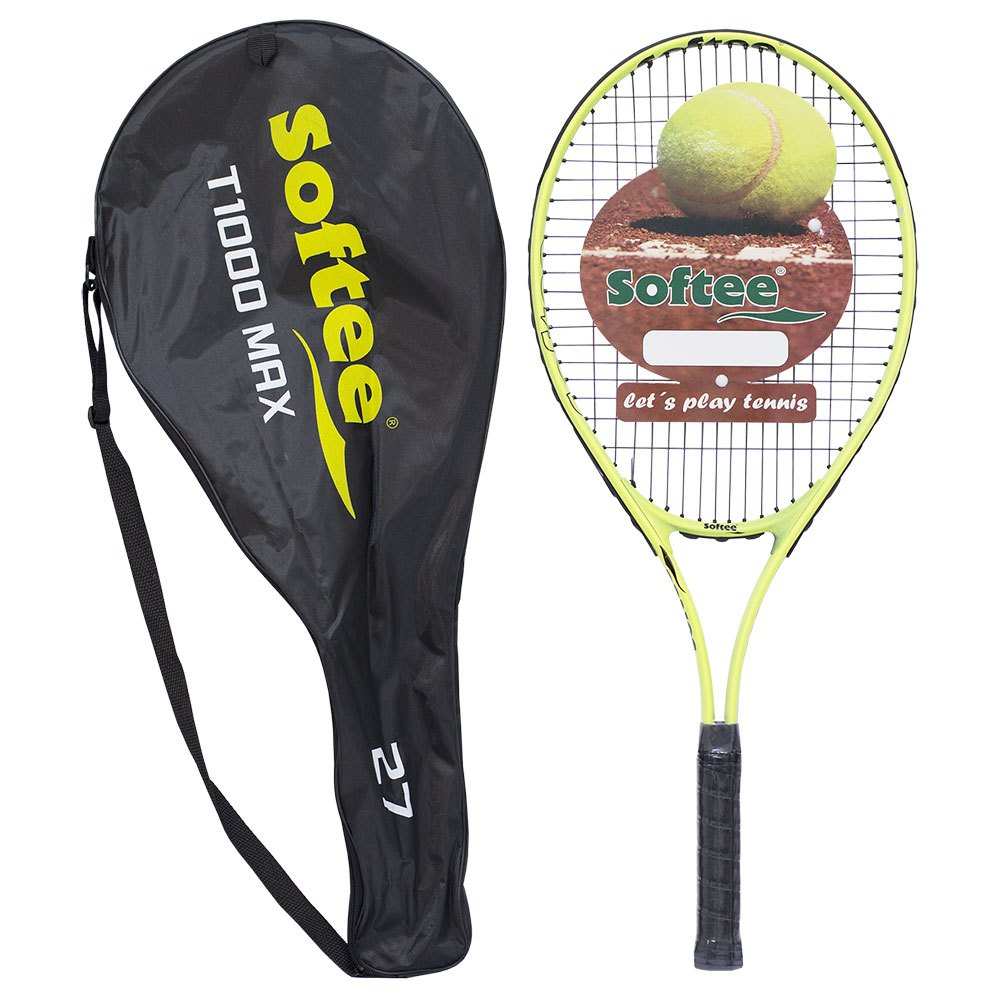 Softee T1000 Max 27 Unstrung Tennis Racket One Size Yellow