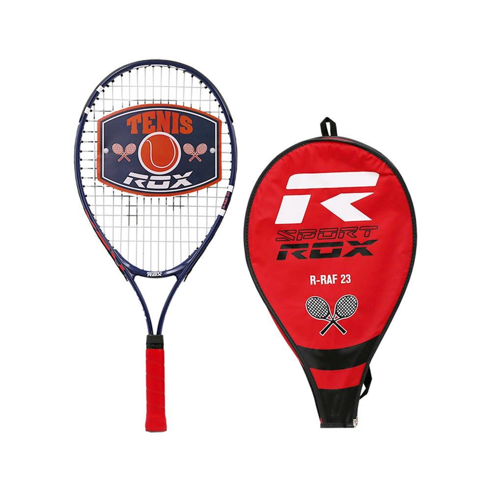 Rox R-raf 23 Tennis Racket 10 - 12 Years Black / Red