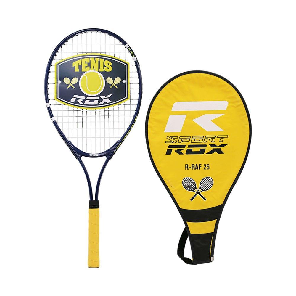 Rox Raquette Tennis R-raf 25 15 Years Black / Yellow