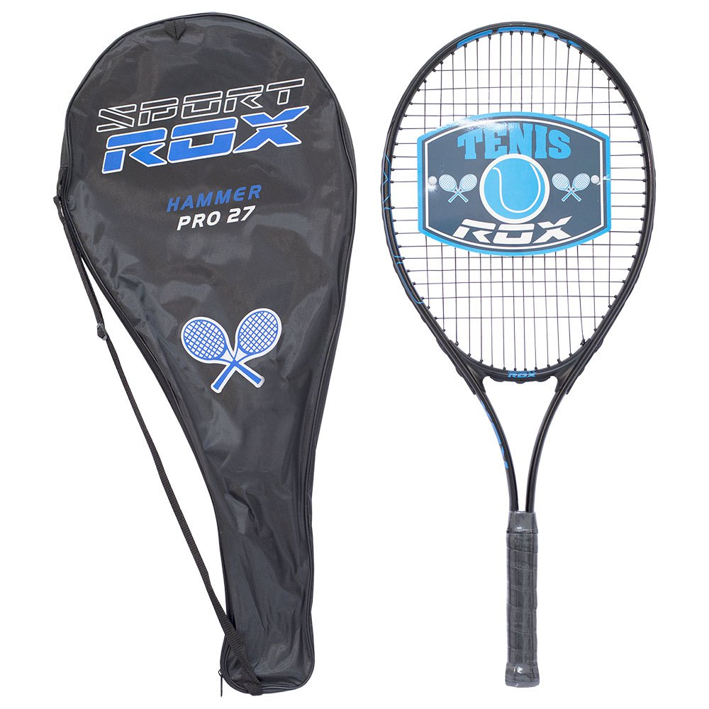 Rox Hammer Pro 27 Unstrung Tennis Racket One Size Black / Blue