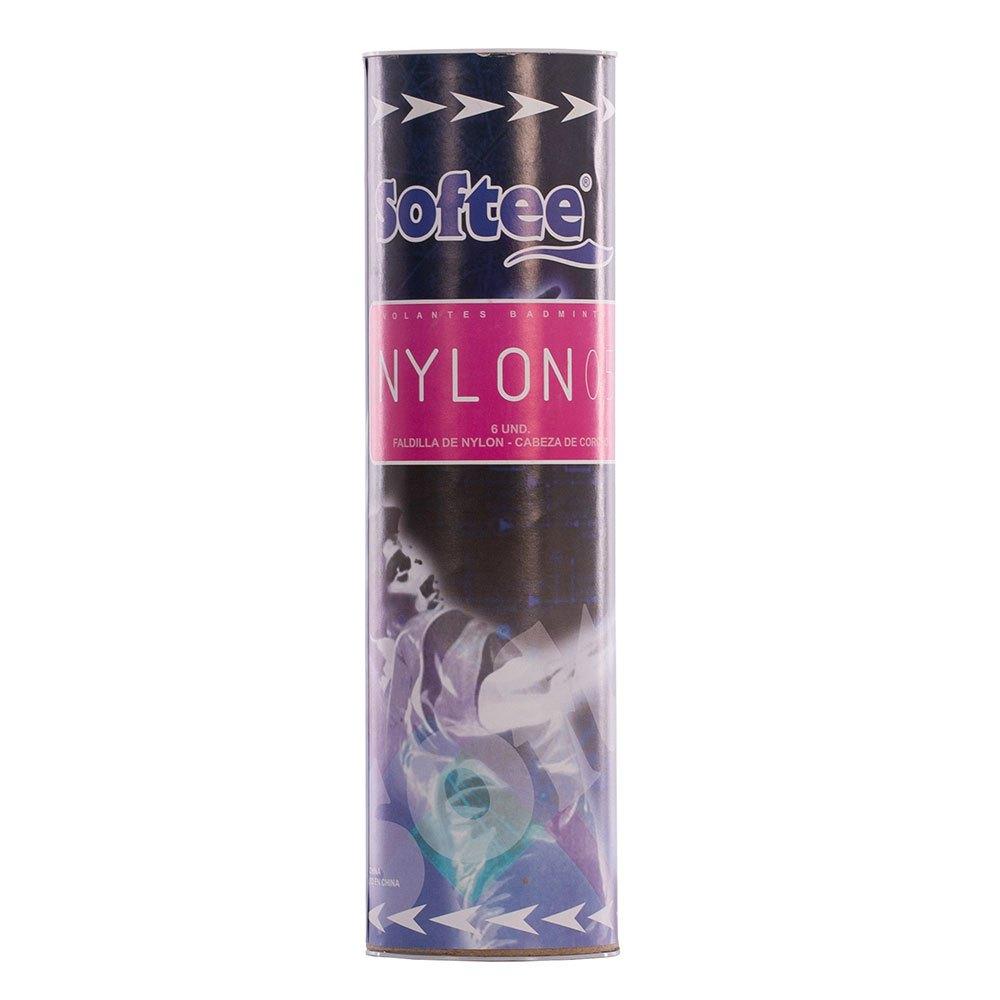 Softee Volants Badminton Nylon 0.5 77 6 Units Yellow