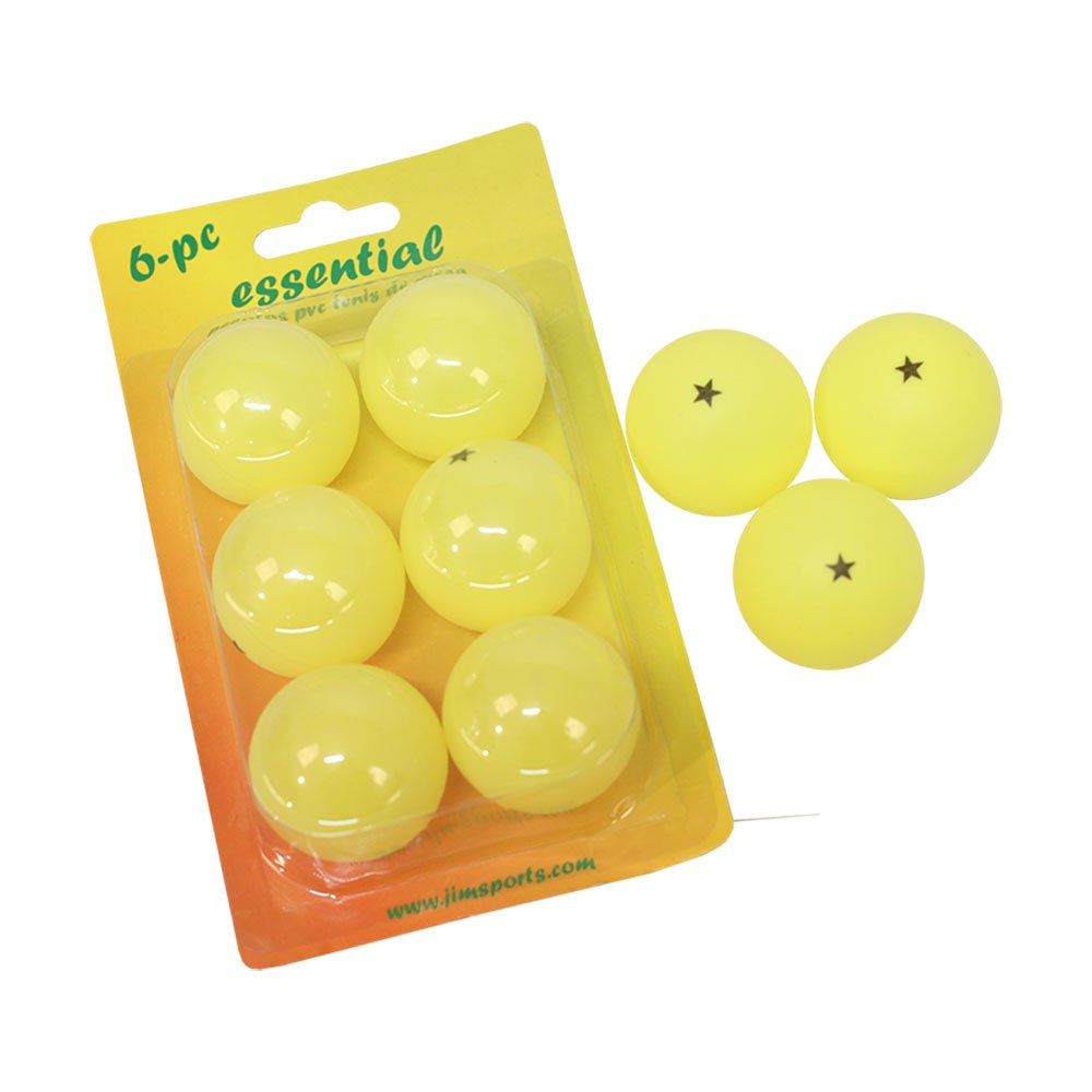 Softee Essential 6 Balls Yellow