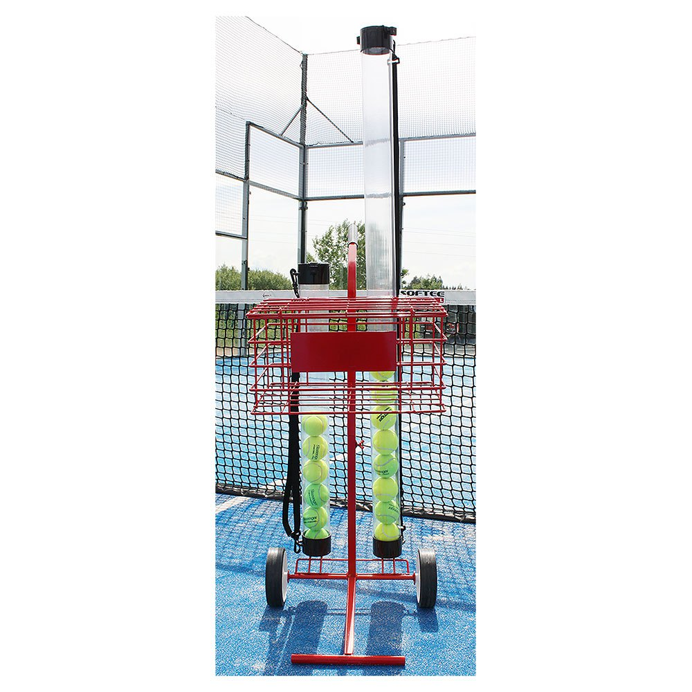 Softee Ball Cart Up to 80 Balls Red