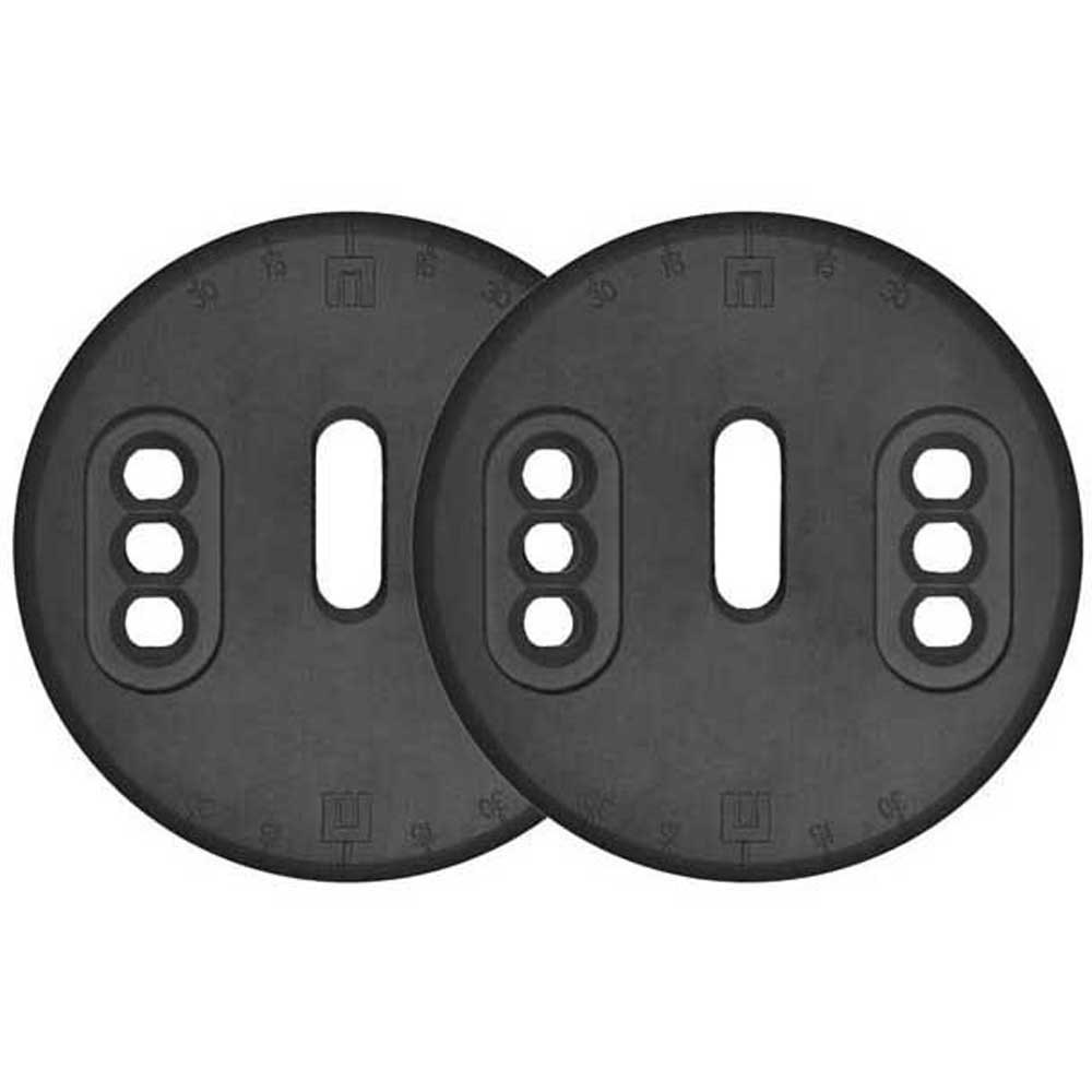 Now Est Nylon Mounting Disc One Size Black