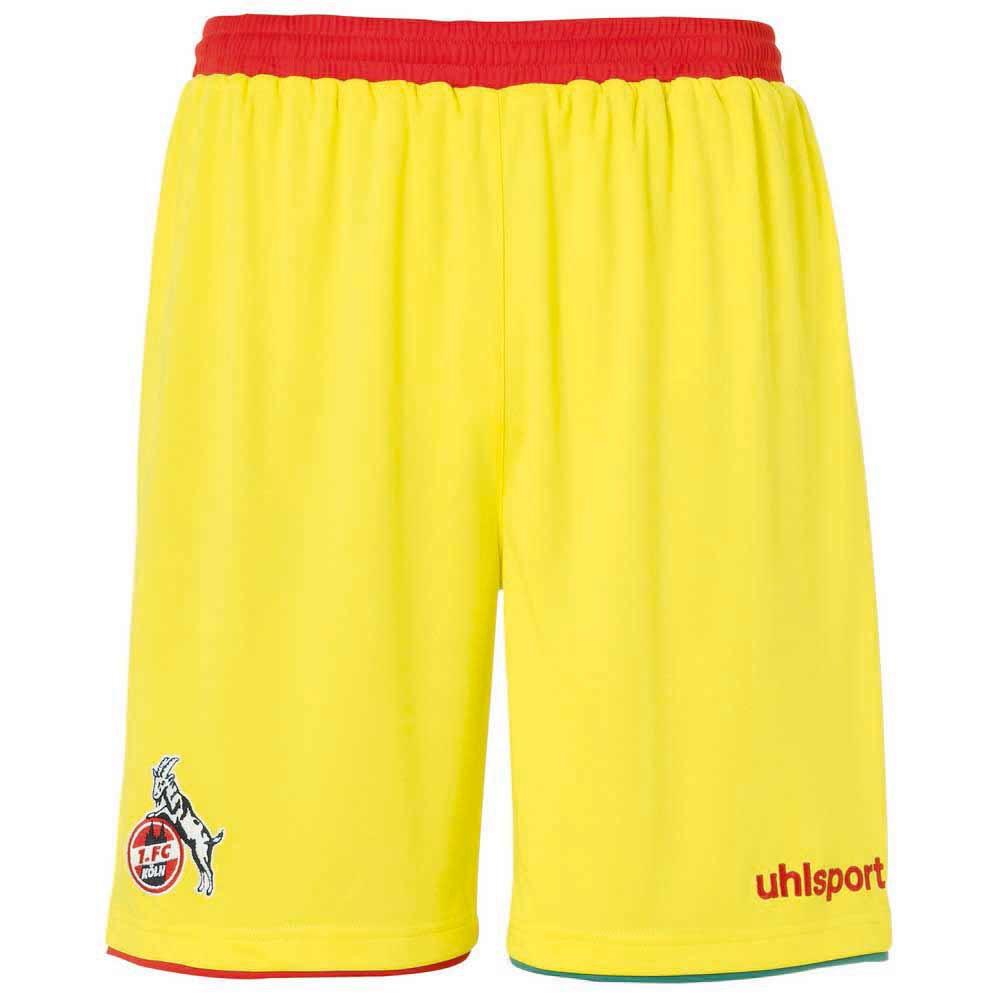 Uhlsport Le Short Fc Köln Troisième 20/21 S Yellow