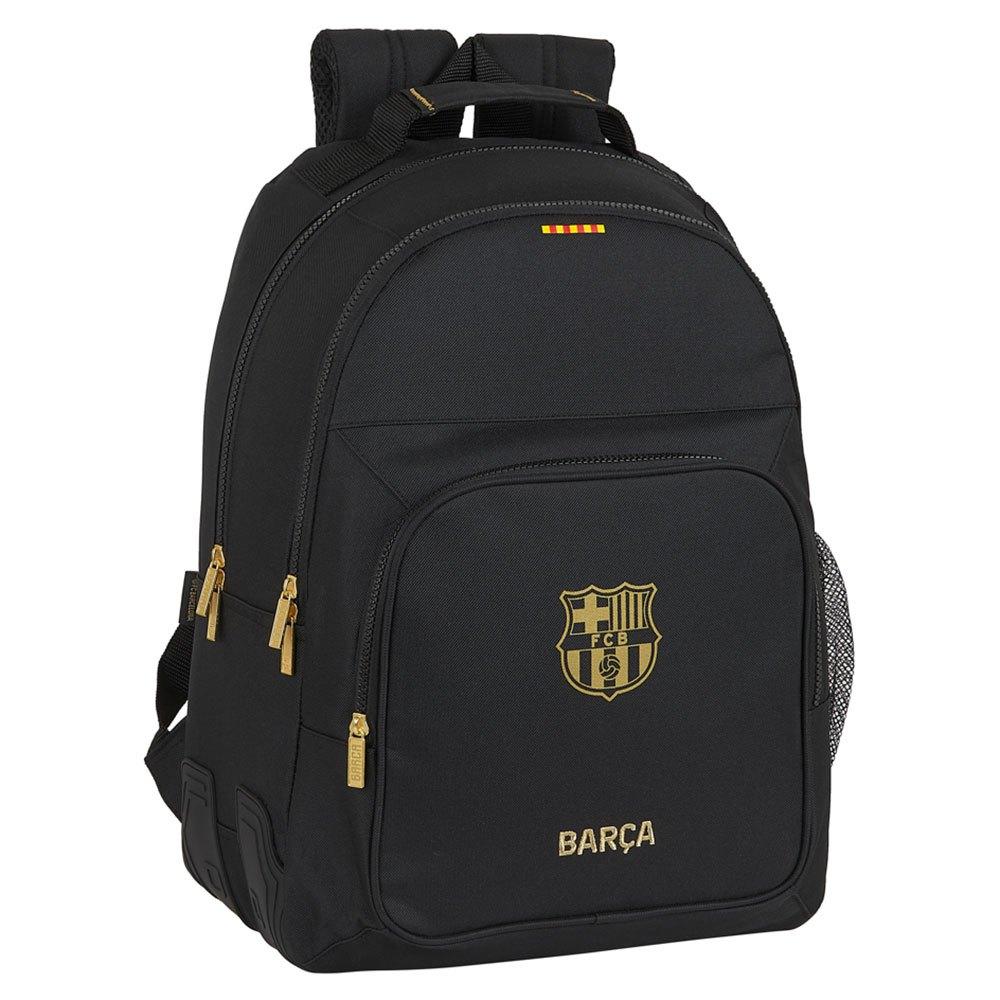 Safta Fc Barcelona Away 20/21 Double 20l One Size Black / Gold