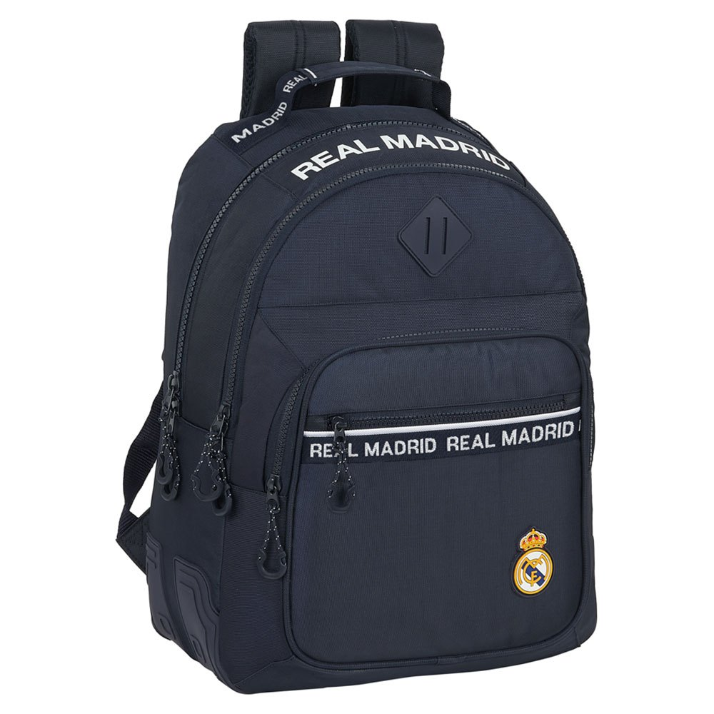 Safta Real Madrid Away 20/21 Double 20l One Size Navy / White