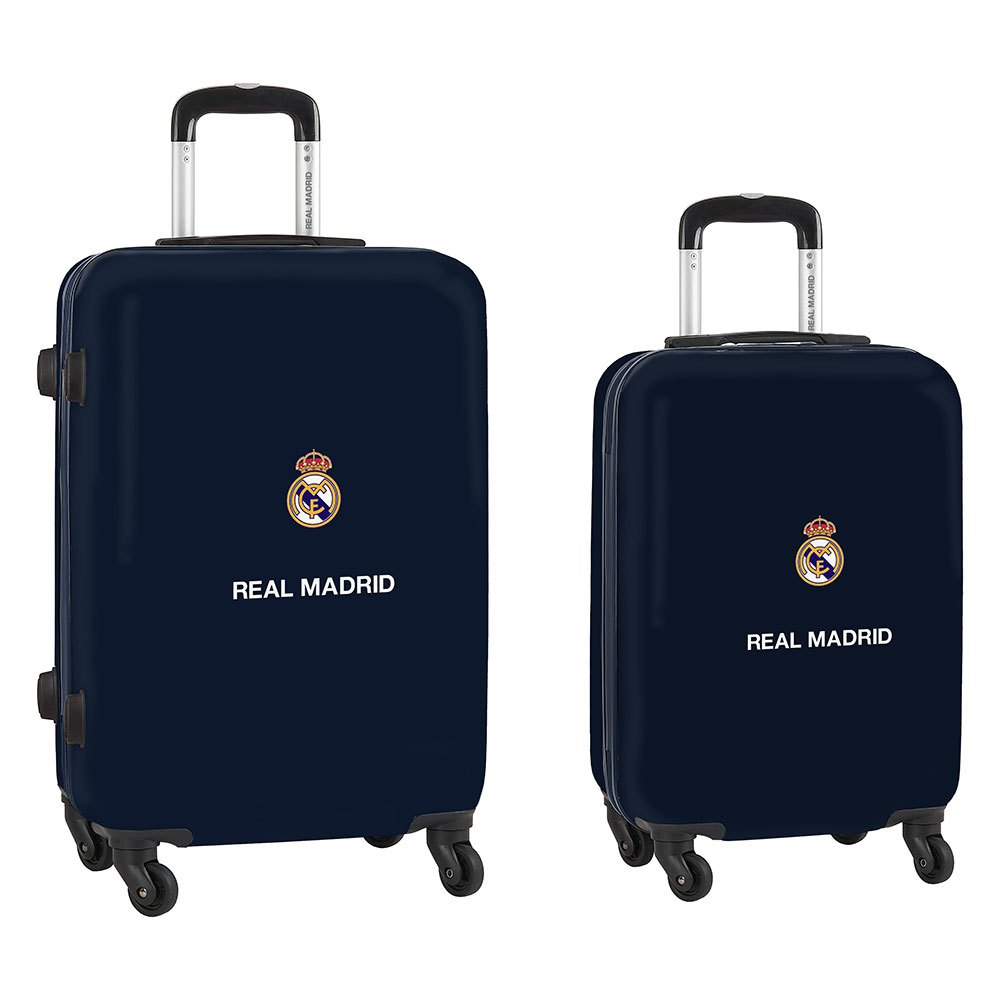 Safta Real Madrid Away 20/21 Cabin Set 60l+40l 2 Units One Size Navy / White / Black