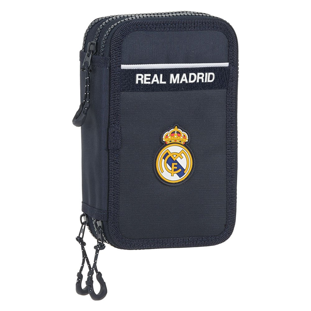 Safta Real Madrid Away 20/21 Triple Filled 36 Units One Size Navy / White