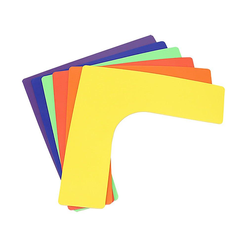 Softee Corner Delimiter 6 Units 25.5 x 25.5 x 7.5 cm Multicolour
