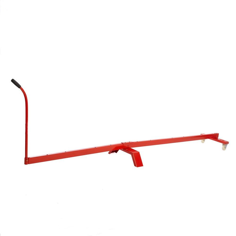 Softee Free Kick Training Dummy Trolley 164 x 21.5 x 12.5 cm Red