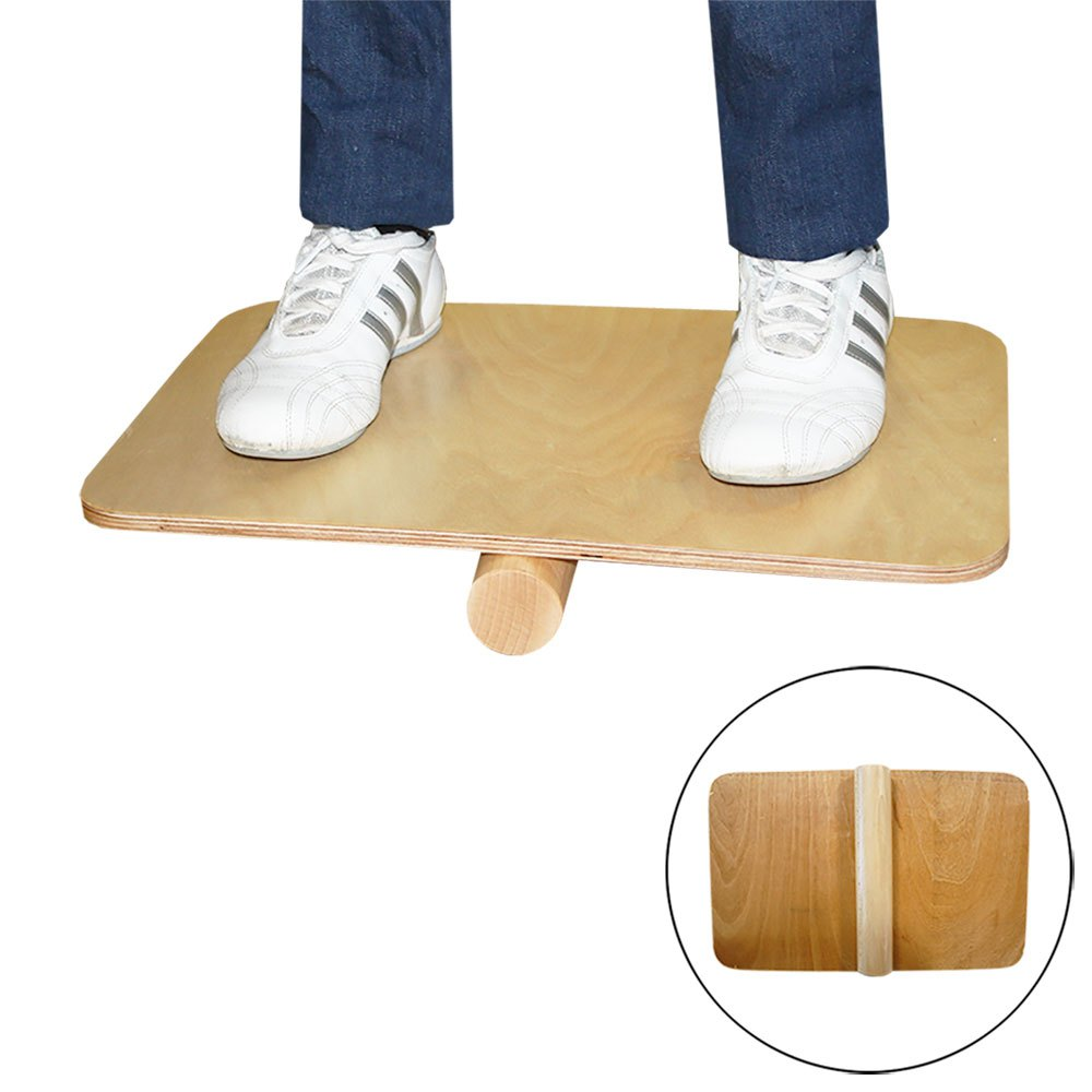 Softee Balance Board Cylinder 48 x 30 cm Wood
