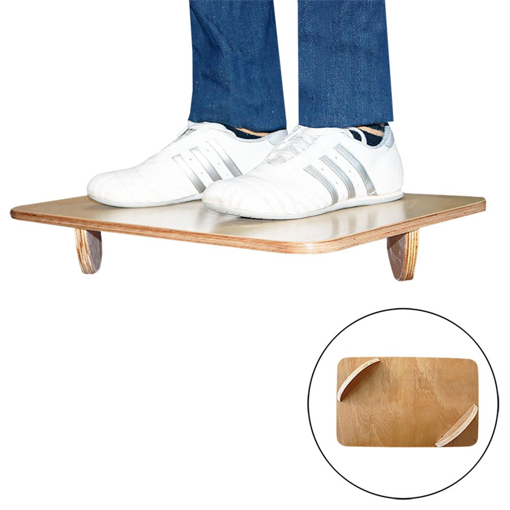 Softee Balance Board Semicircles 48 x 30 cm Wood