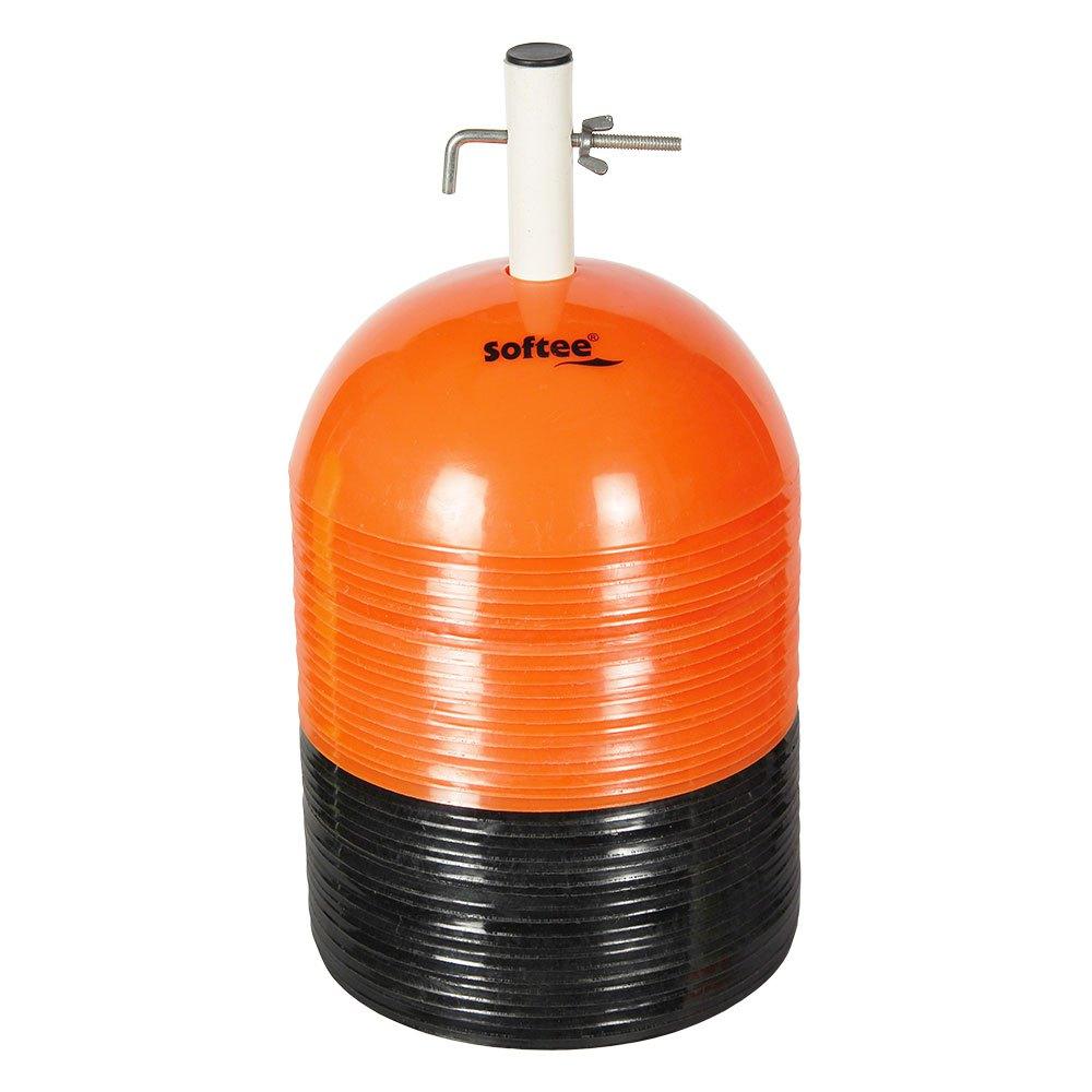 Softee Semi Circle 40 Units 19.5 cm Orange / Black