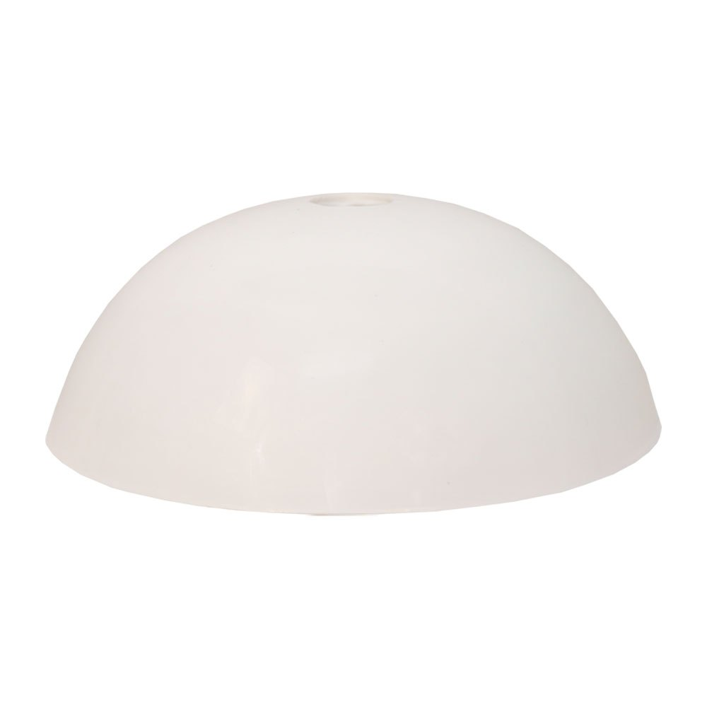 Softee Semi Circle 19.5 cm White